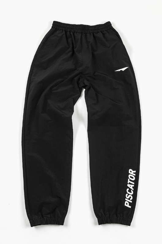 PISCATOR Warm-Up Pants Black