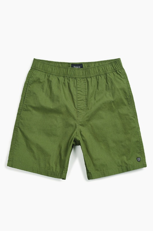 BRIXTON Steady Elastic WB Shorts Leaf