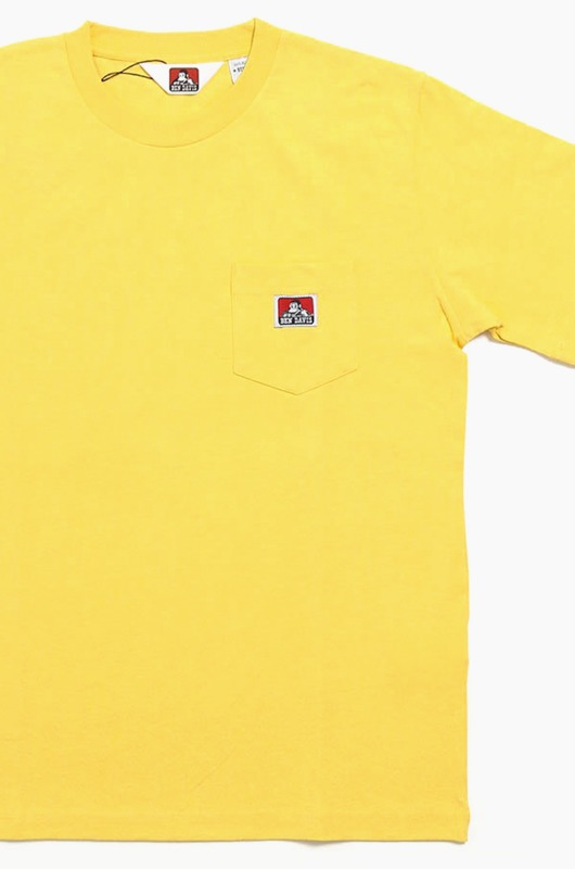BENDAVIS (JAPAN) 9580000 Pocket S/S Yellow