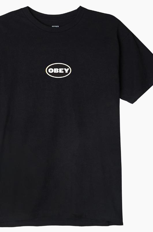 OBEY Galleria S/S Black