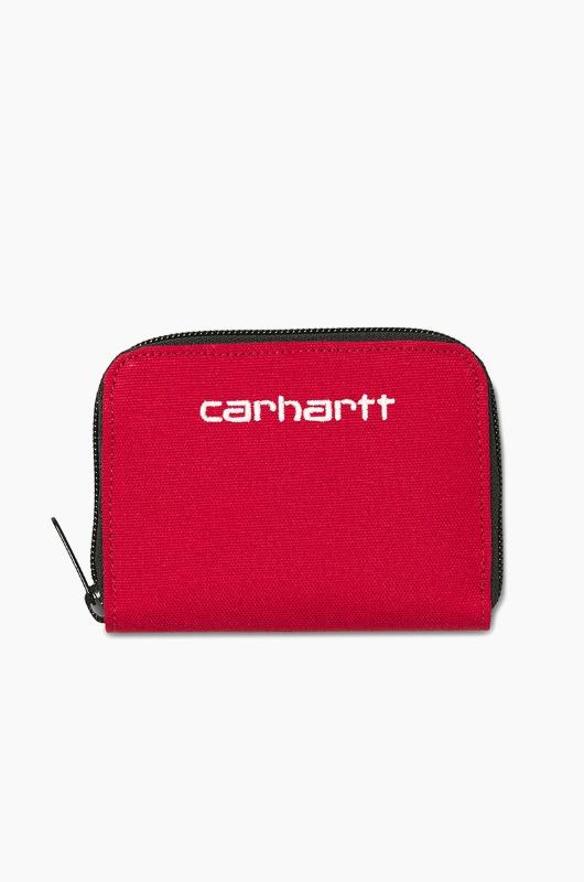 CARHARTT-WIP Payton Midi Wallet Cardinal/White