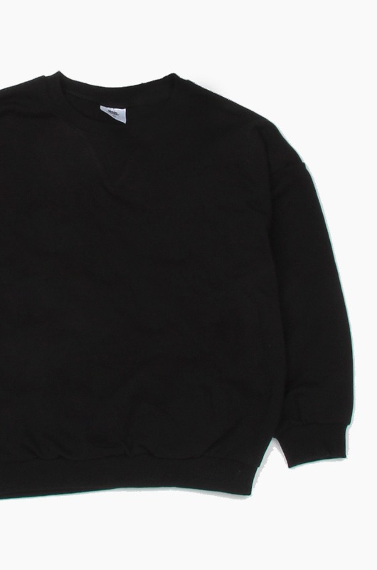 Plain Kids Crew Black
