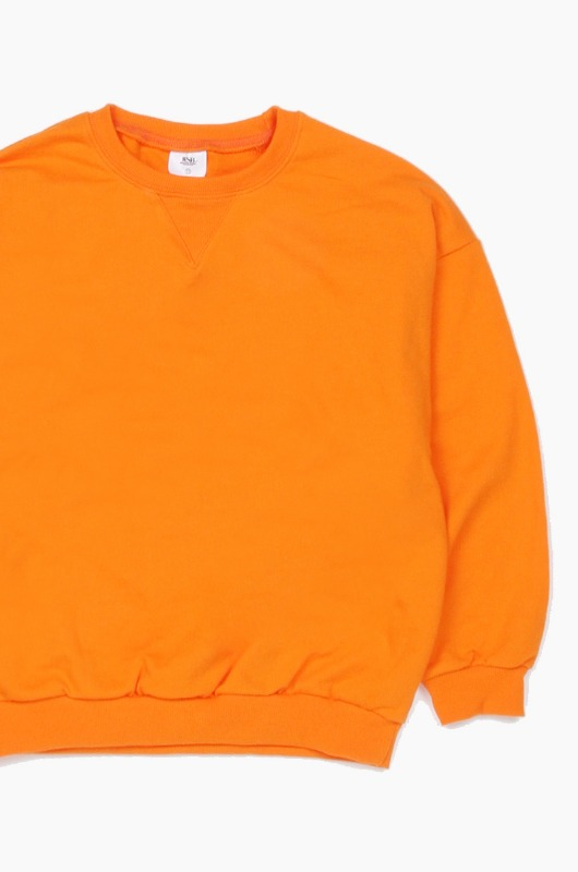 Plain Kids Crew Orange