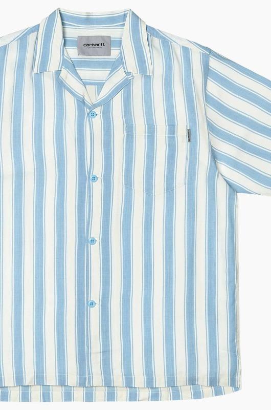 CARHARTT-WIP Esper Shirts Capri/Wax