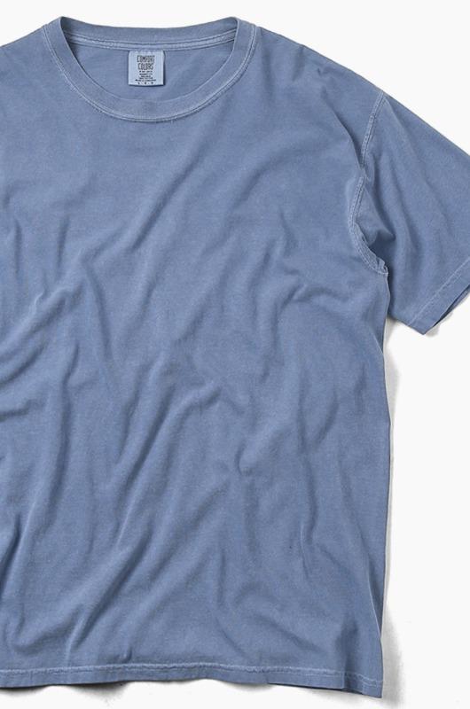 COMFORT COLORS Basic S/S Blue Jean