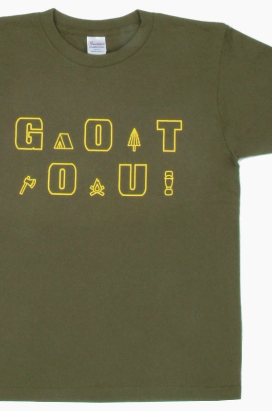 GO OUT Gear Logo S/S Olive