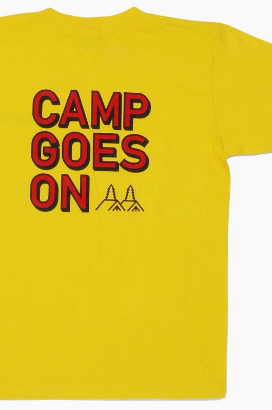 GO OUT Camp Goes On S/S Gold