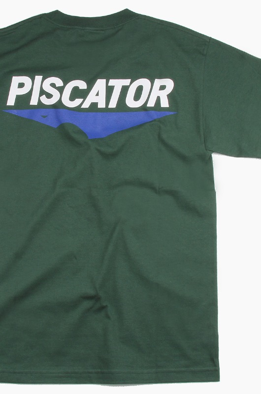PISCATOR 19 Core Logo s/s Green
