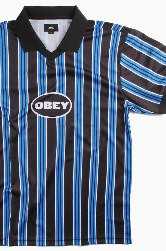 OBEY Penality Soccer Polo S/S Sky Blue