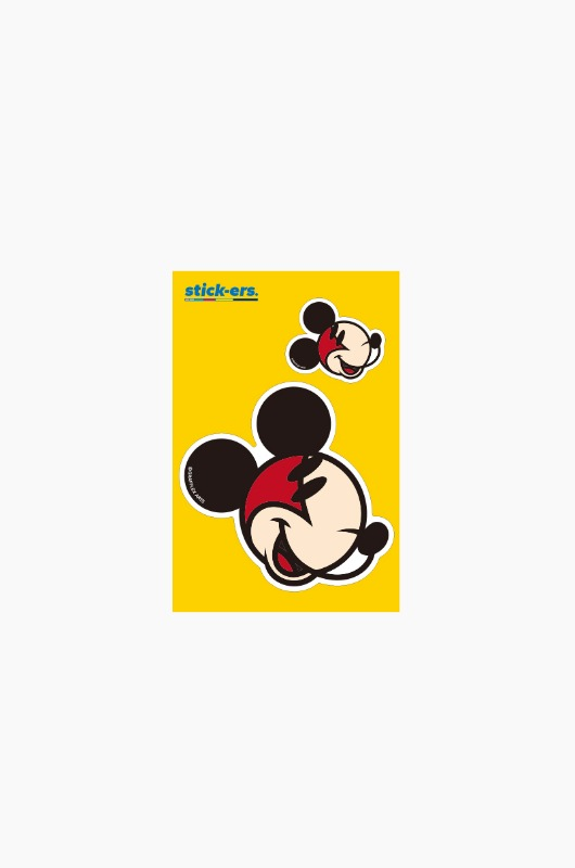 FRESHCUT Mickey Mouse Sticker Small 011