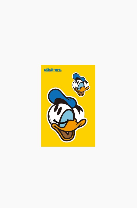 FRESHCUT Donald Duck Sticker Small 012