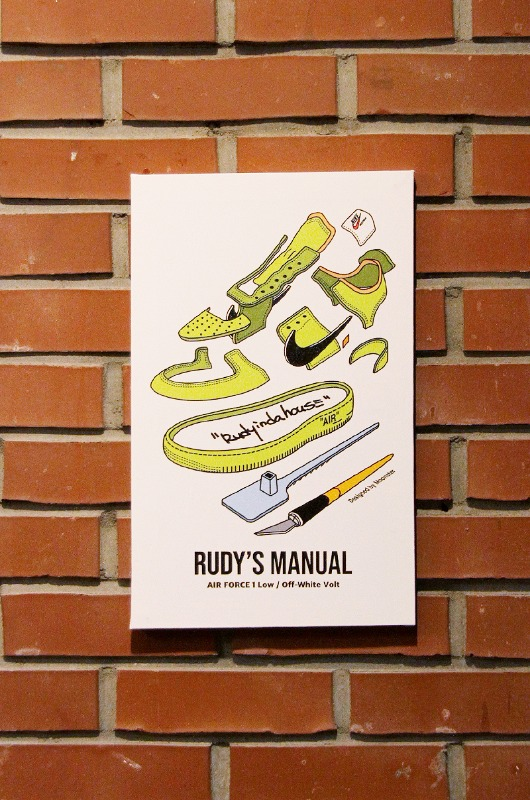 RUDYINDAHOUSE Rudy's Manual Artwork Canvas Force 25x40