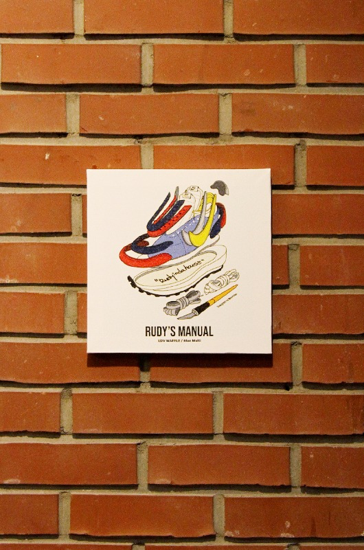 RUDYINDAHOUSE Rudy's Manual Artwork Canvas Sacai 25x25