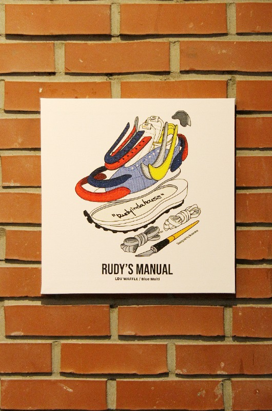 RUDYINDAHOUSE Rudy's Manual Artwork Canvas Sacai 35x35