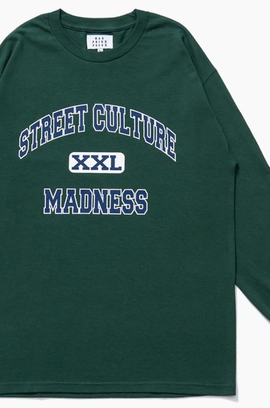 MAD PRIDE POSSE Street Culture Madness L/S Green