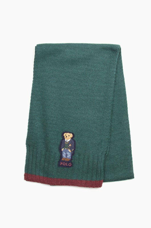 POLO Andrew Bear Scarf College Green