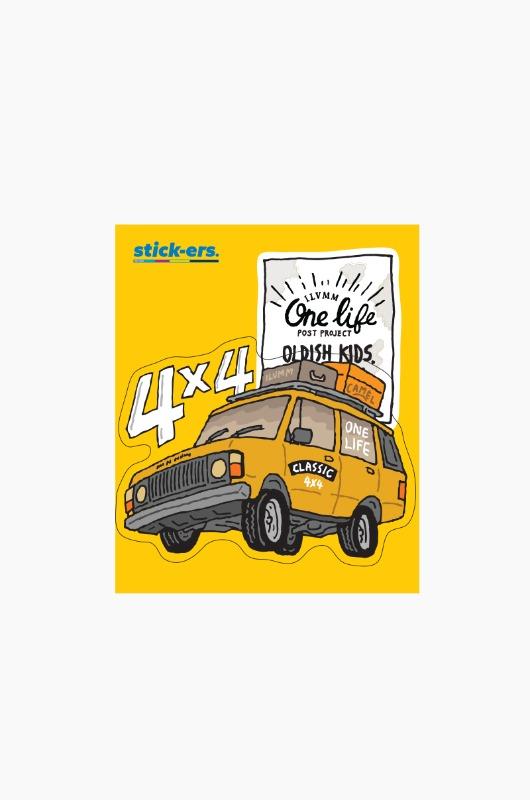 STICK-ERS ONE LIFE Medium 037