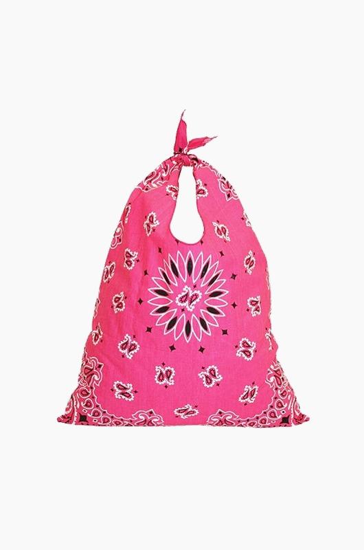 HAV A HANK Tote Bag Paisley Hot Pink