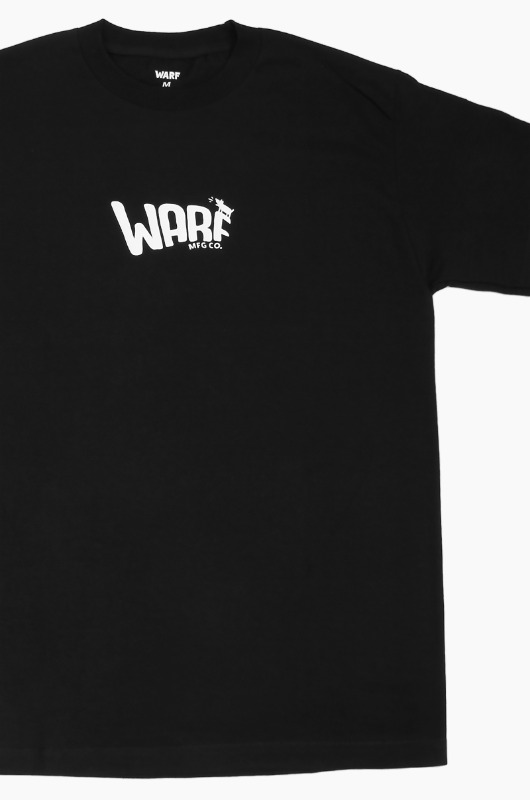WARF Mfg Puff Logo S/S Black