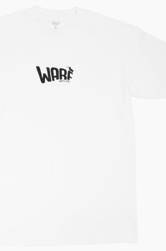 WARF Mfg Puff Logo S/S White