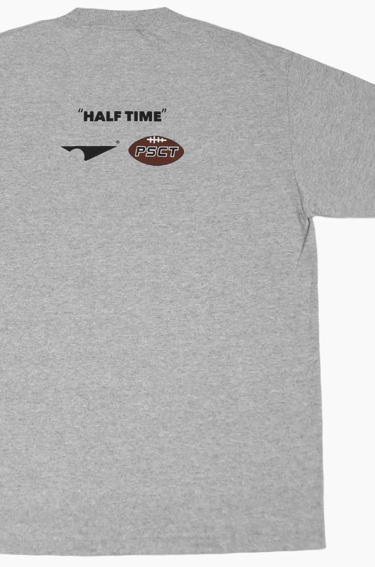 PISCATOR Half Time S/S Grey