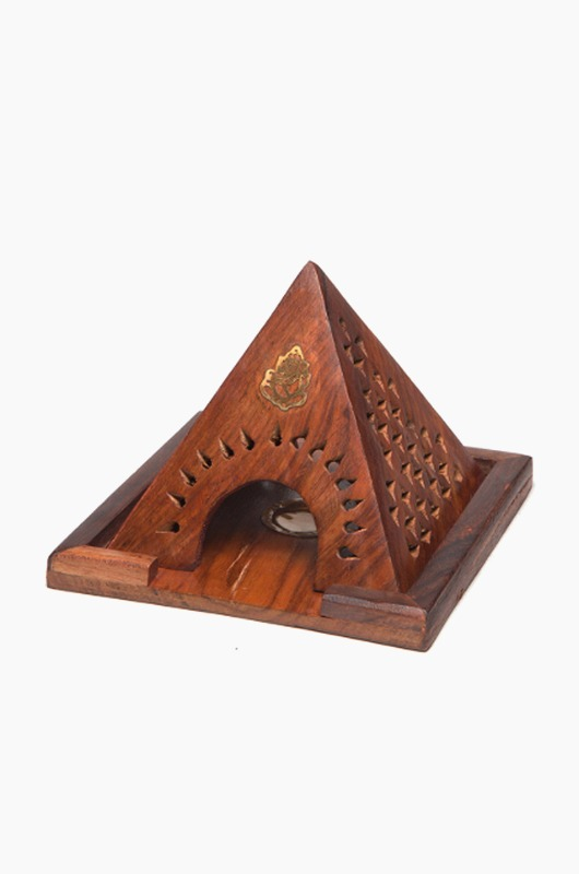 INCENSE Cone Holder Pyramid Gonesh