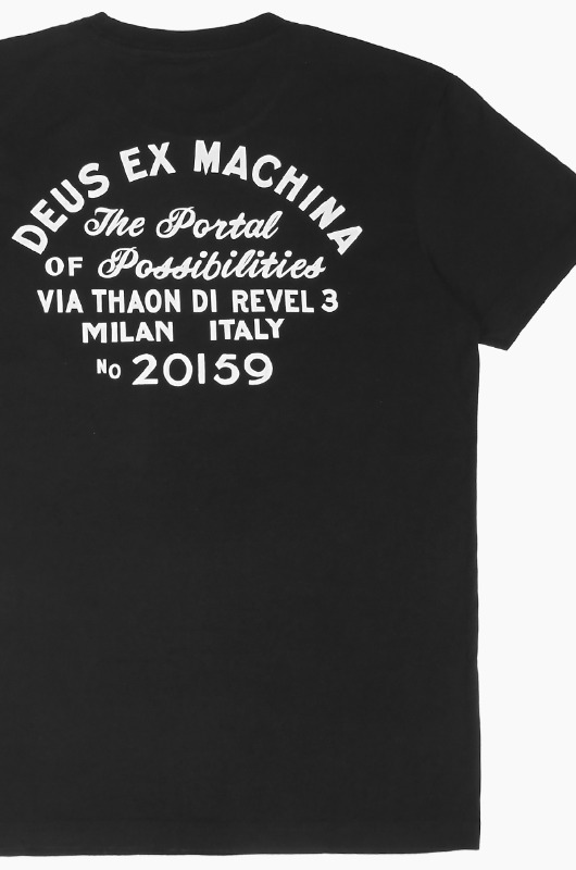 DEUS Milan Address S/S Black