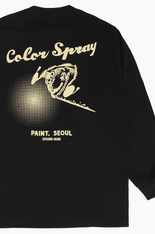 DOEZNY Ivory Spray L/S Black