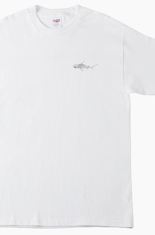 PISCATOR Souvenir S/S White