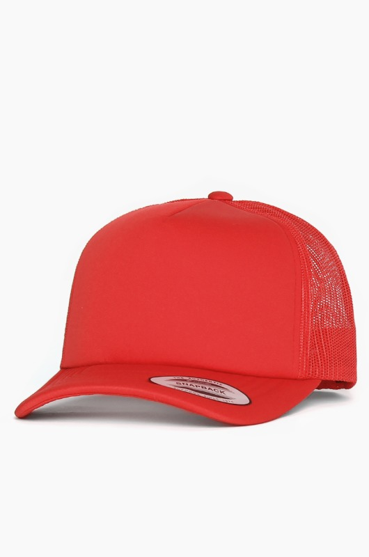 YUPOONG Classic Foam Trucker Cap Red
