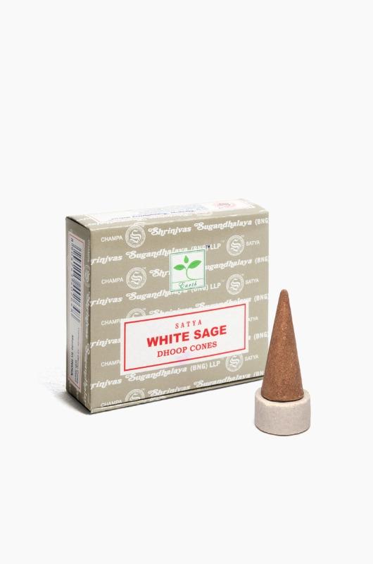 Nagchampa Cone White Sage