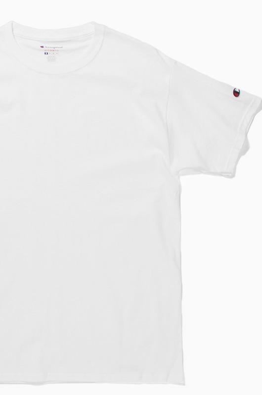 CHAMPION Basic S/S White