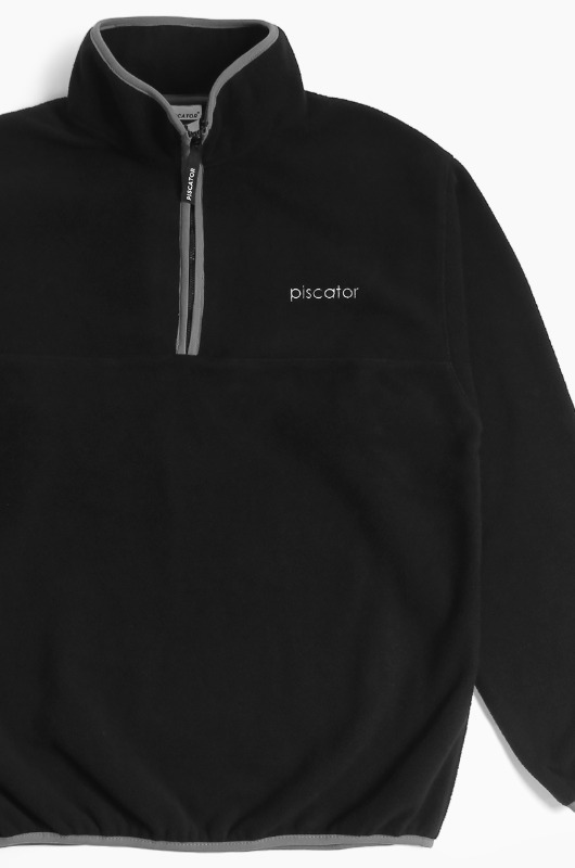 PISCATOR Coral Reef Zip-Up Black