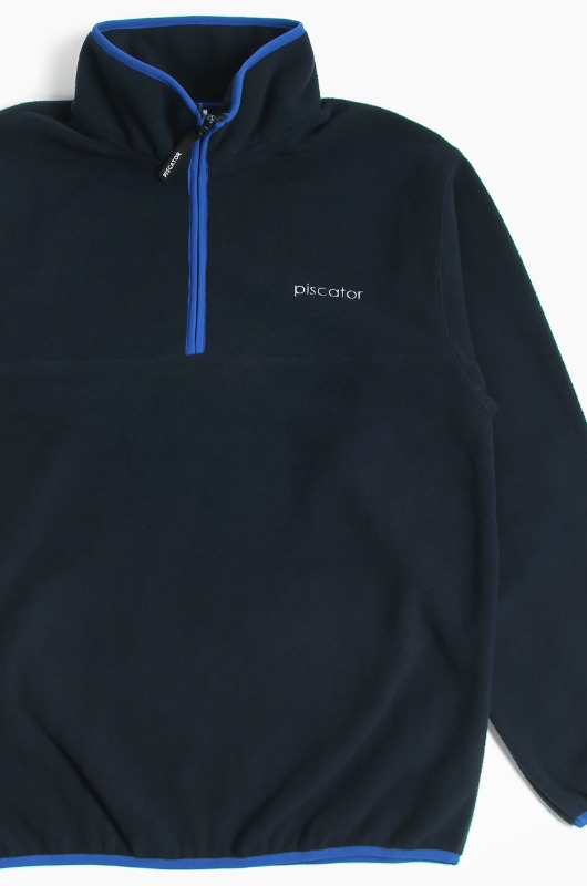 PISCATOR Coral Reef Zip-Up Navy