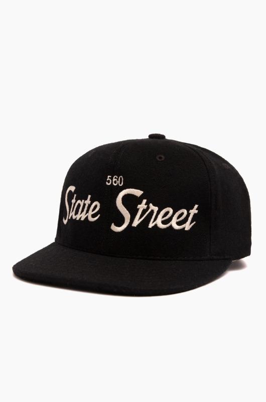HOODHAT 560 State Street Snapback Black