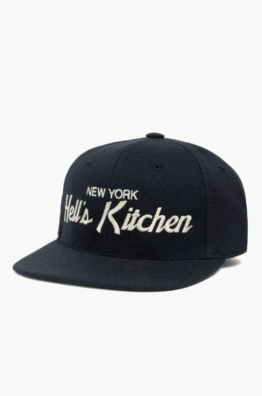 HOODHAT New York Hell's Kitchen Snapback Dk.Navy