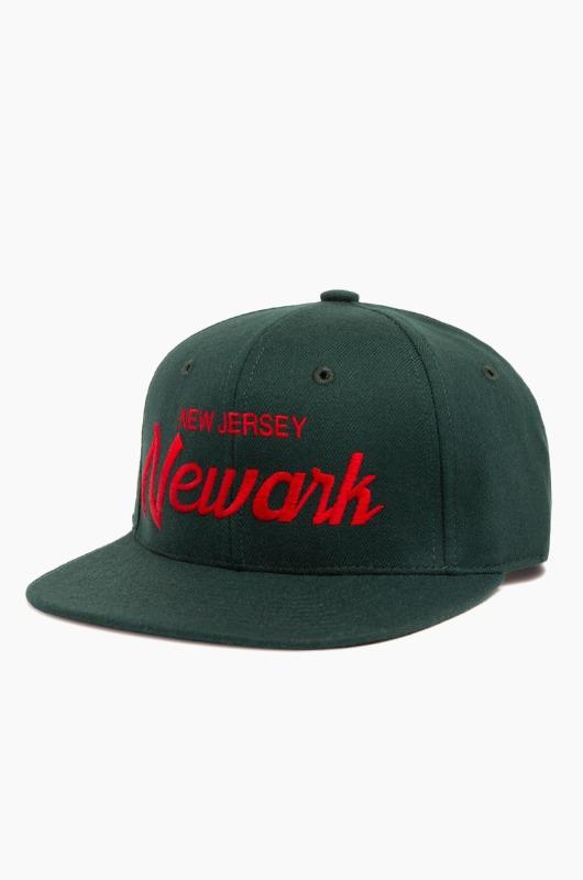 HOODHAT New Jersey Newark Snapback Green