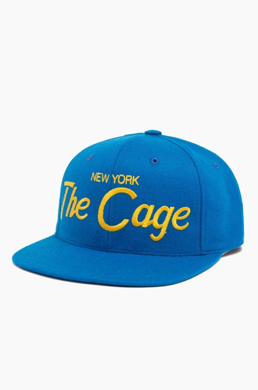 HOODHAT New York The Cage Snapback M.Blue