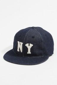 Ebbets Field Ballcaps Sopooom x NY Black Yankees Denim