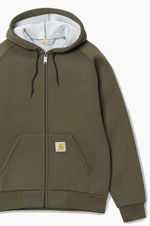 CARHARTT-WIPCar-Lux Hooded Jacket Cypress/Grey