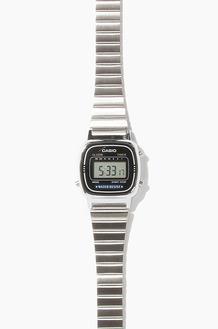 CASIO LA670WA-1 Silver/Black(여성용)