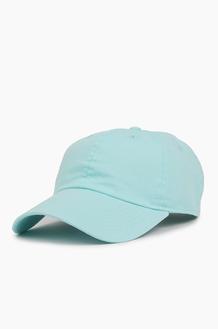 NEWHATTAN Cotton Ballcap Aqua