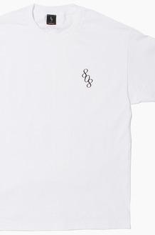 808 808 Logo S/S White