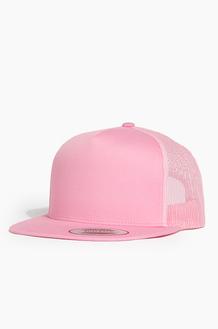 YUPOONG 5p Classic Trucker Cap Pink