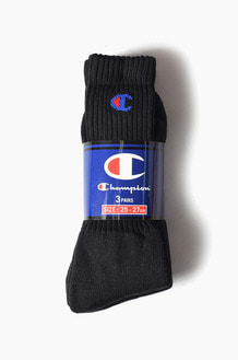 CHAMPIONBasic Socks 3Pack Black