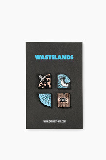 CARHARTT-WIP Wasteland Pin Set