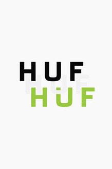 HUF Classic Logo Vinyl Die Cut Stickers
