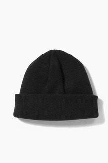 Plain Beanie Standard Black