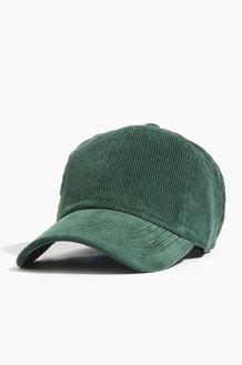 NEWHATTAN corduroy Ballcap Dark Green