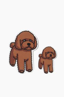 WARF Poodle Sticker 004